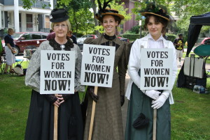 Votes for Women portrayers