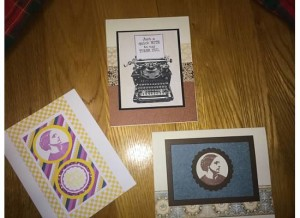 Grandparent Grandchild Tea 2016 Cards