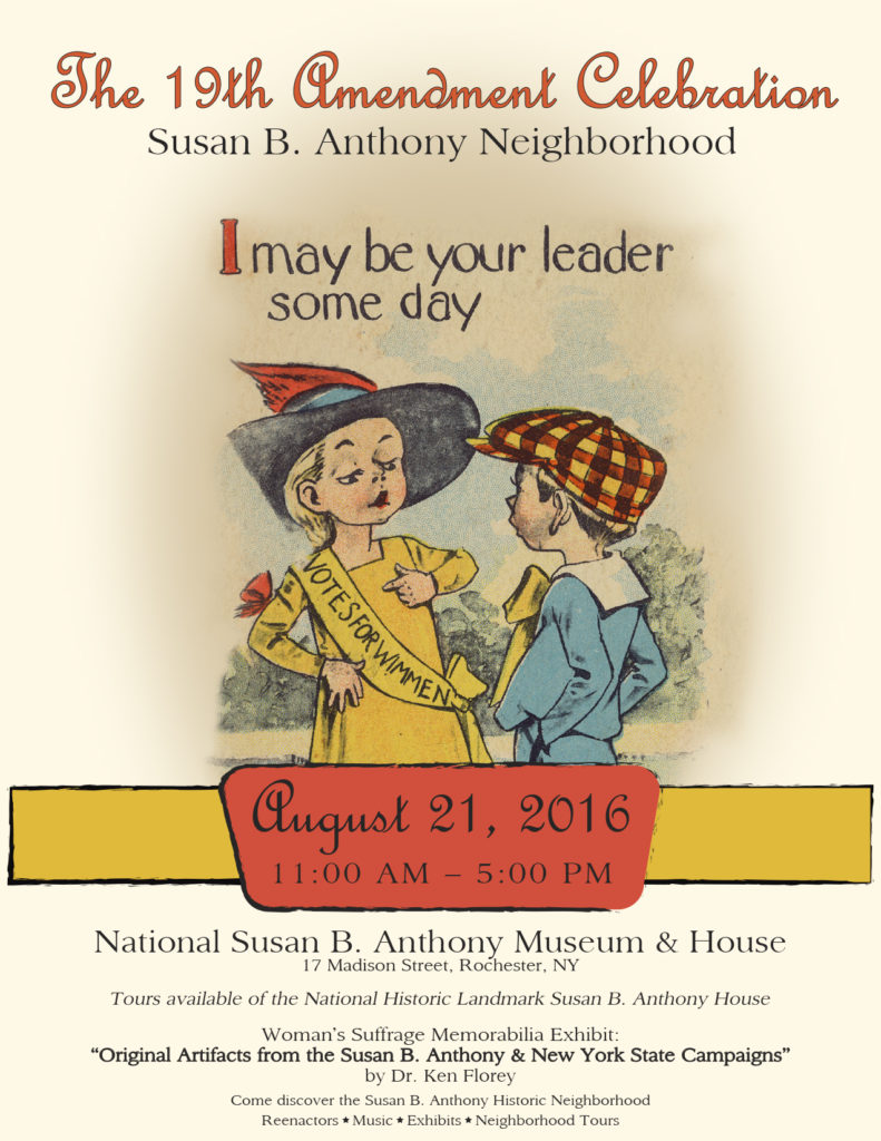 upcoming events national susan b anthony museum house 19th amendment celebration in the susan b anthony neighborhood